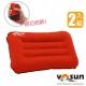 【VOSUN】超輕量拉扣式充氣枕頭(2入)_夕陽紅 product thumbnail 1