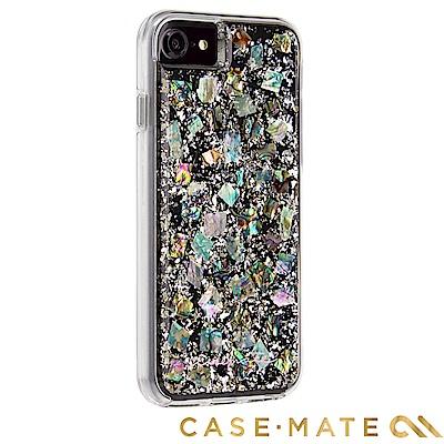 美國 Case-Mate iPhone 8 Pearl 貝殼銀箔雙層防摔手機保護...