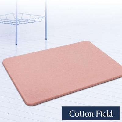棉花田 原野 日本超人氣珪藻土吸水抗菌浴墊-粉色(35x45cm)