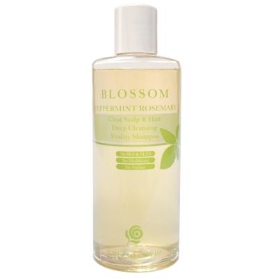 BLOSSOM 薄荷迷迭香清爽活髮深層淨化修護洗髮精(250ML/瓶)