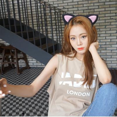 梨花HaNA 新版小S出門玩都戴的貓耳朵髮箍