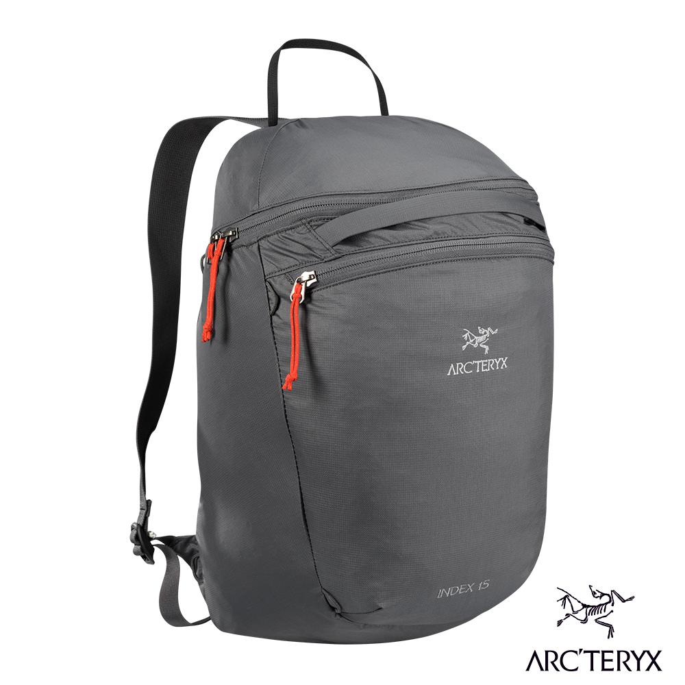 Arcteryx 24系列 Index 15L多功能後背包 機長灰