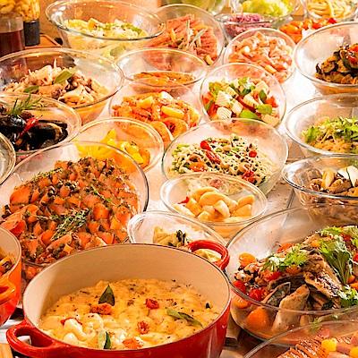 義饗食堂Just Italian自助餐晚餐券(四張)