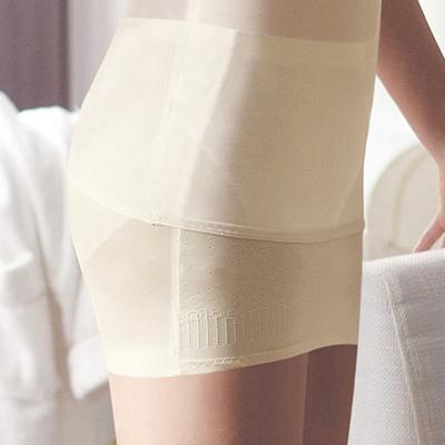 【曼黛瑪璉】羽涼級‧輕鬆塑   重機能中腰縮腹提臀塑裙(花漾膚)