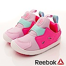 Reebok 頂級童鞋 休閒學步機能款 MNI140粉紫桃(寶寶段)