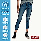 Levis711中腰緊身窄管牛仔長褲亞洲版型Cool Jeans涼感彈性褲INDIGO