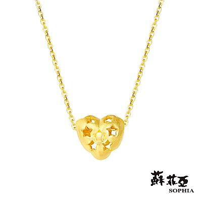 蘇菲亞SOPHIA - G LOVER系列幸運心黃金套鍊