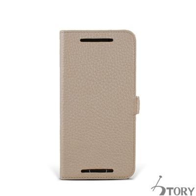 STORY皮套王 HTC M9+ 摺邊折疊式 客製化皮套