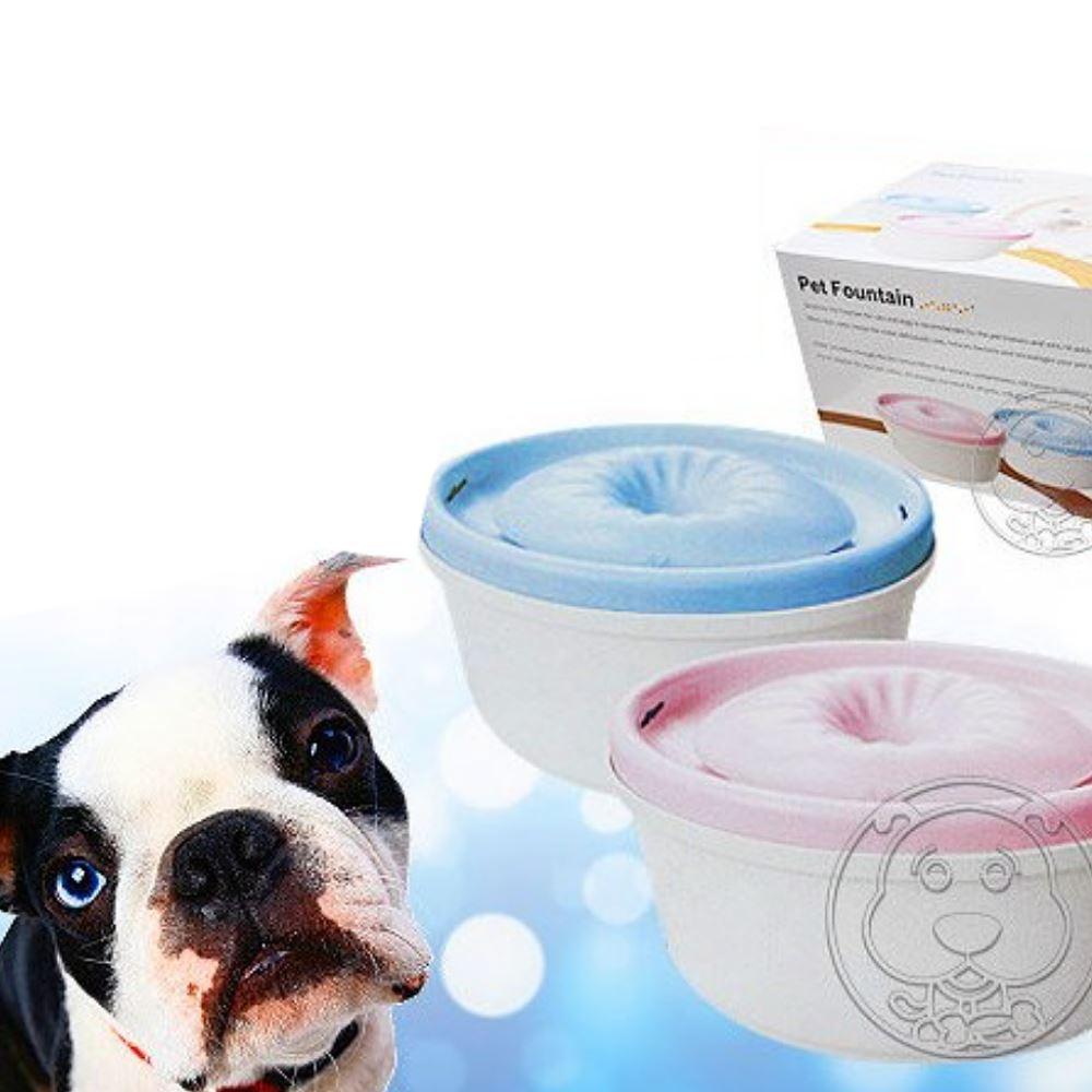 pet 迴轉式過濾殺菌活氧寵物飲水機 300W (2款顏色)