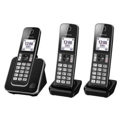 Panasonic 國際牌 DECT數位無線電話 KX-TGD313TWB (黑)