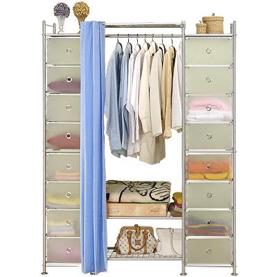 巴塞隆納-W3+2D型60公分衣櫥置物櫃