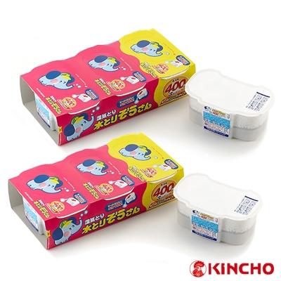 日本OKAMOTO 小象除濕盒400ml-3個入/2組(HK-CL9798) -快