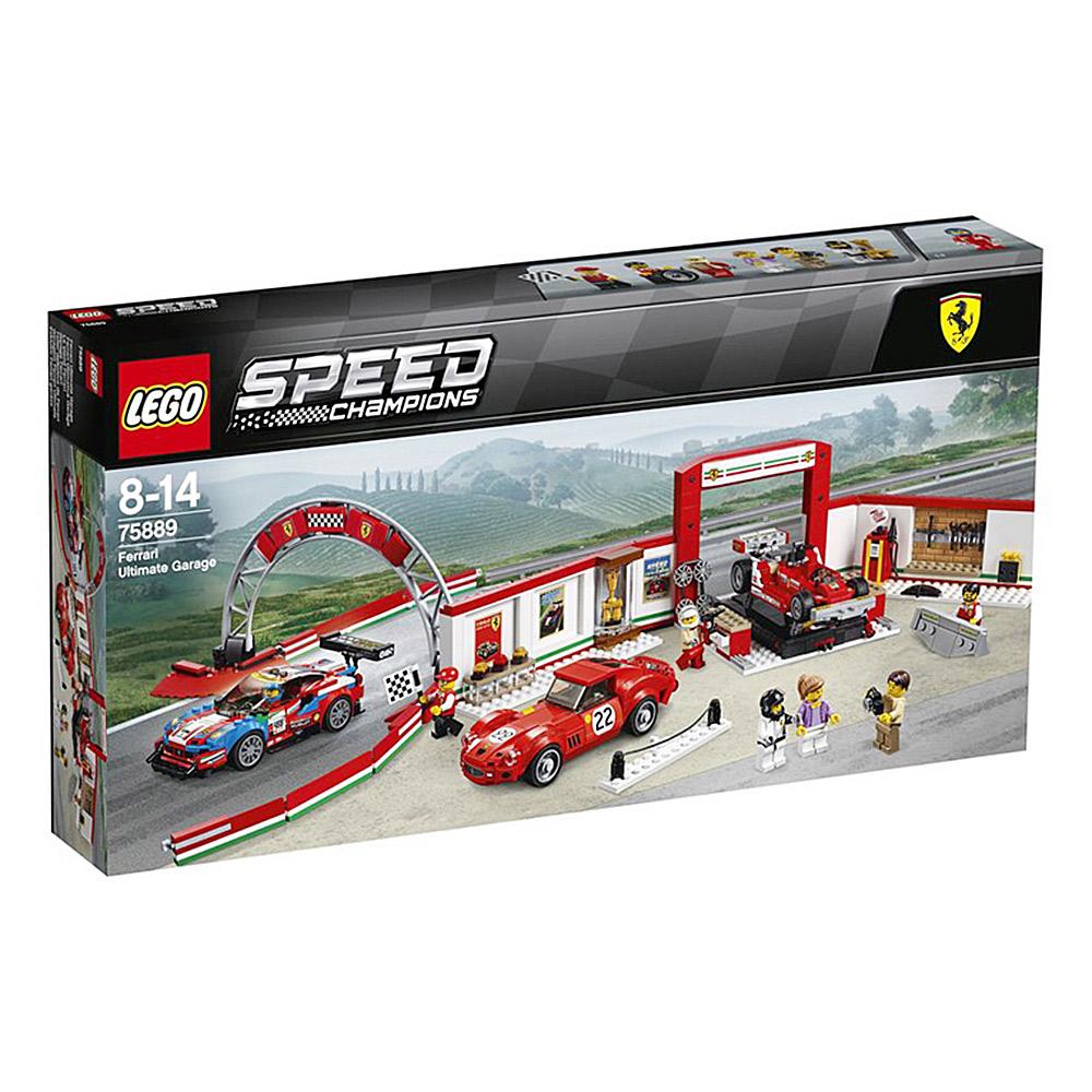 LEGO樂高賽車系列75889法拉利終極車庫Ferrari Ultimate