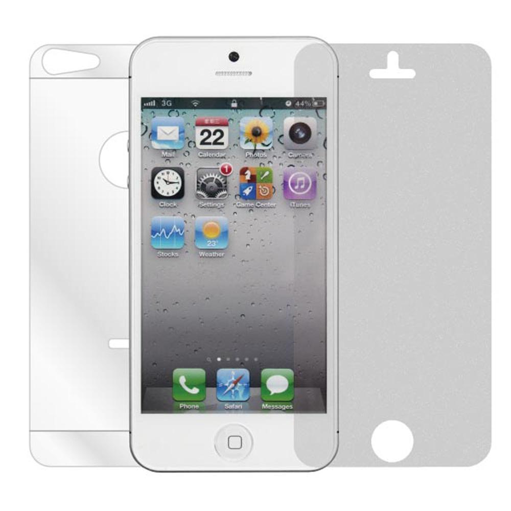 ZIYA iPhone5/5S/SE 珍珠鑽石螢幕機身保護貼