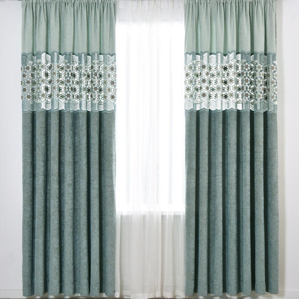 伊美居 - 摩洛哥精品落地窗簾 - 單片130x230cm (共2片)