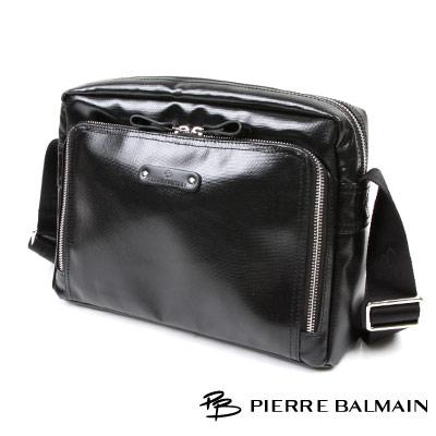 皮爾帕門PB-雅痞系列休閒橫式-中-側背包P541012
