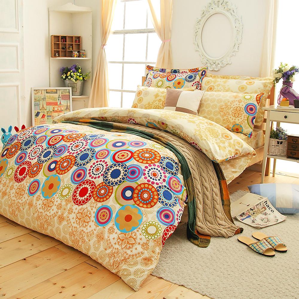 (活動)Faieno 時尚派對 加大精梳純棉床包三件組