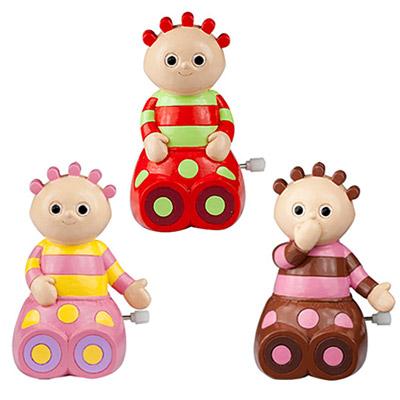 《花園寶寶》圓寶寶發條公仔3入組 正版授權ST安全玩具