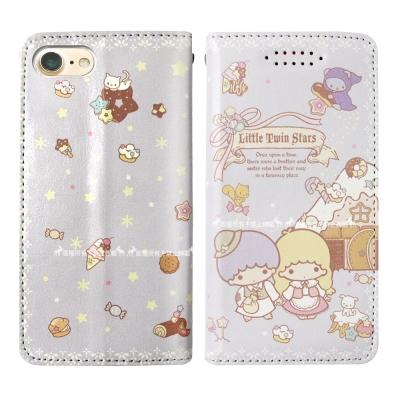 三麗鷗授權 Kikilala 雙子星 iPhone 6s Plus 隱形磁力皮套(童話)