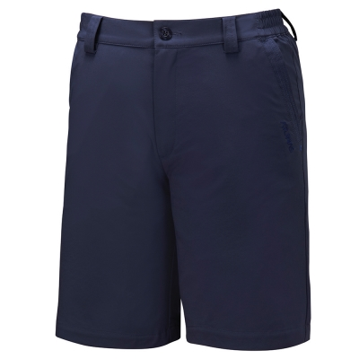 【ATUNAS 歐都納】男款防曬彈性透氣休閒五分褲 A-PA1611M 深藍