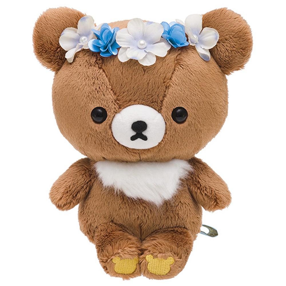 拉拉熊遇見蜂蜜小熊系列毛絨公仔。蜂蜜小熊
