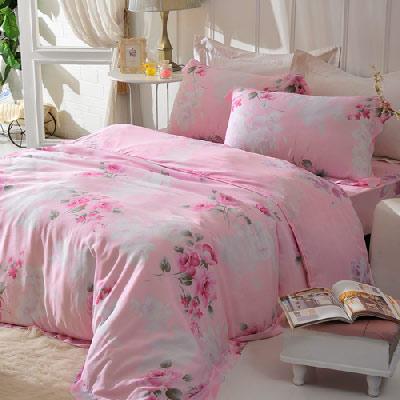 英國Abelia 柔情序曲 特大木漿纖維八件式兩用被床罩組