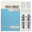 miu miu 粉色嬉遊女性淡香水 針管1.2ml x2入(法國進口)