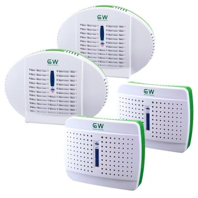 GW水玻璃無線式除溼機4件組(2大+2小)