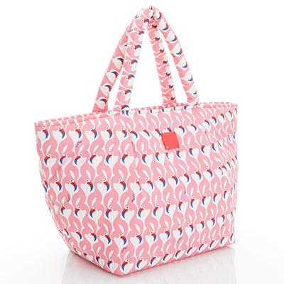 VOVAROVA空氣包-大開口托特包-粉粉紅鶴