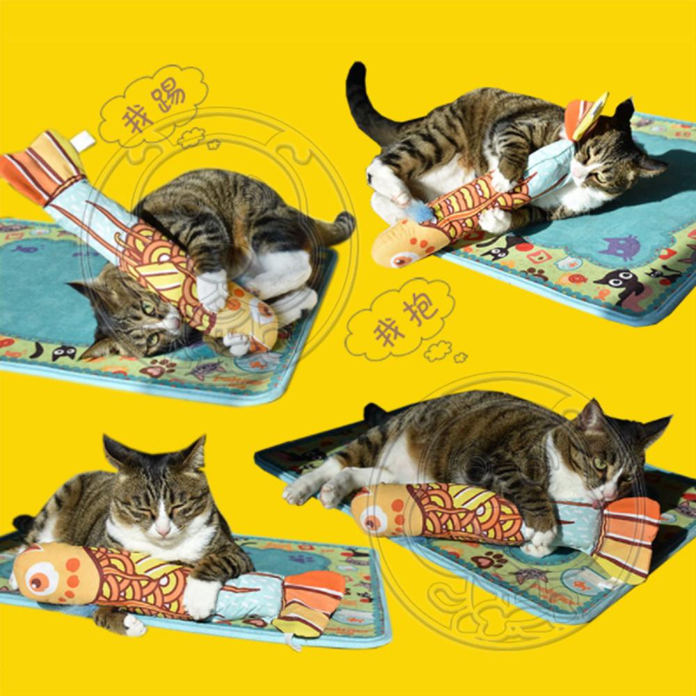 DYY》薄荷魚貓草寵物貓玩具 38*9.5*6cm
