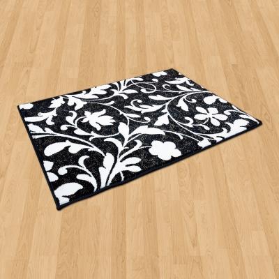 Ambience 比利時 Palmas 玄關/床邊 絲光地毯 -花蔓 (68x110cm)