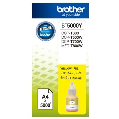 Brother BT5000Y 原廠黃色墨水