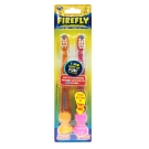 美國Dr. Fresh Firefly計時發光兒童牙刷2入
