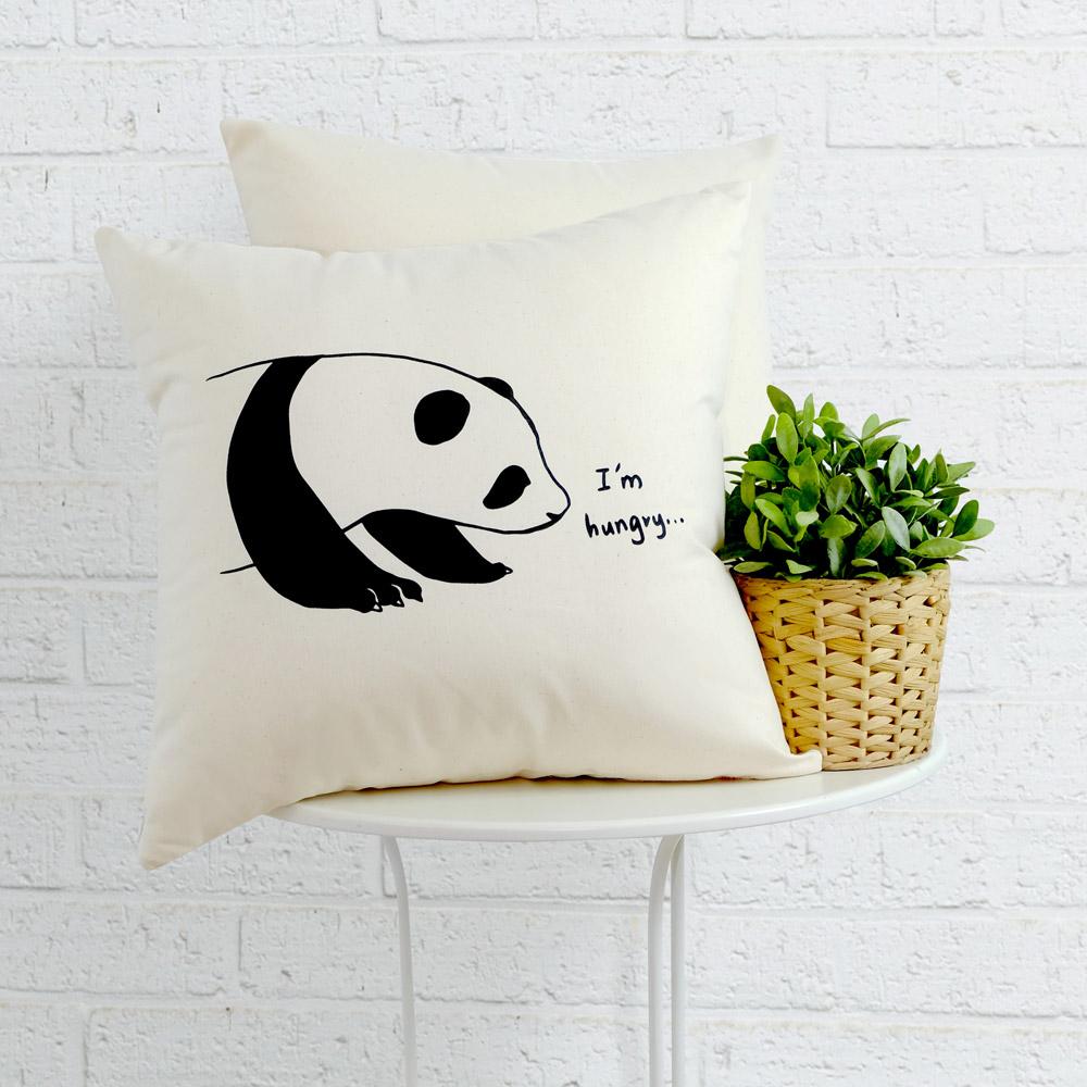 IN HOUSE-抱枕-Canvas系列-Panda