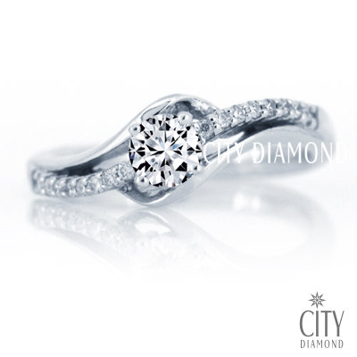City Diamond『夜合花之舞』32分鑽戒