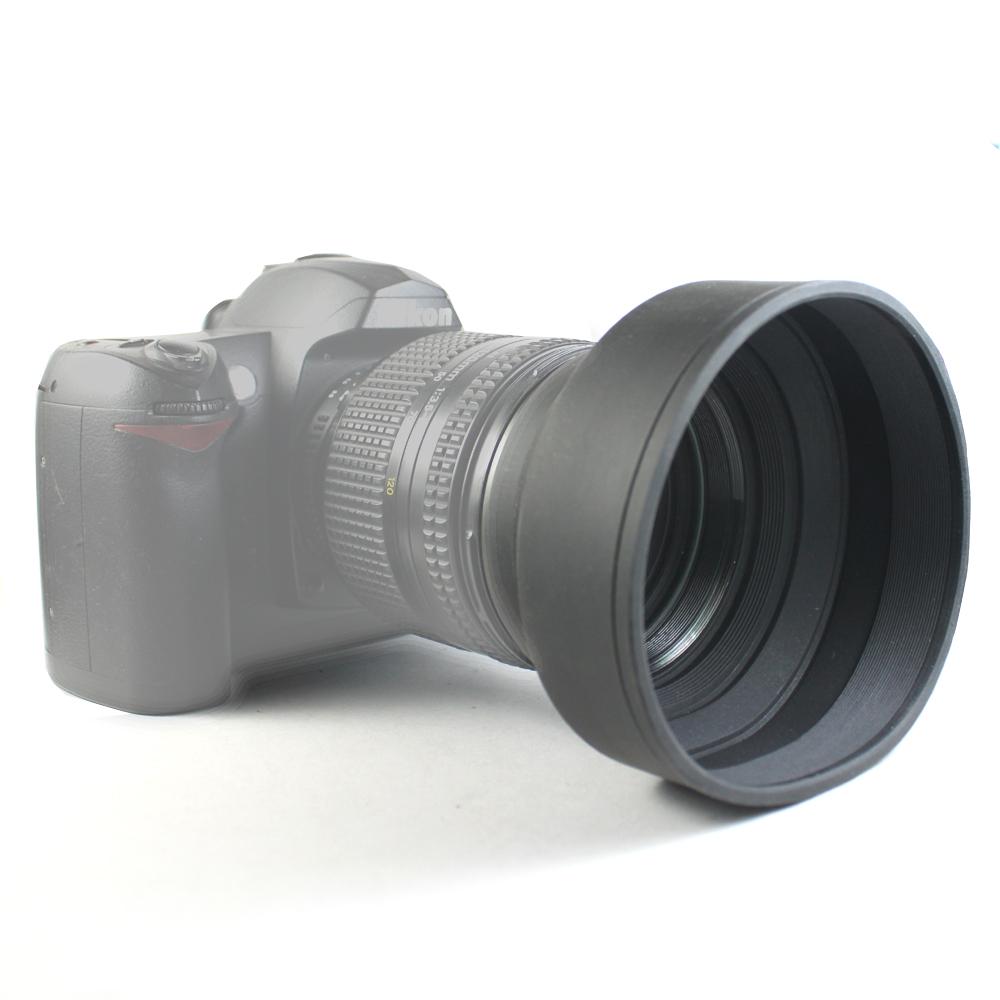 Piyet 鏡頭軟式螺紋遮光罩(55、58、62、67mm)