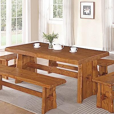 H&D 卡拉6尺餐桌 (寬180X深90X高75cm)