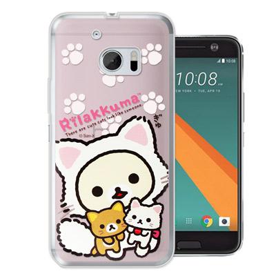 日本授權正版-拉拉熊-HTC-10-M10-變裝系
