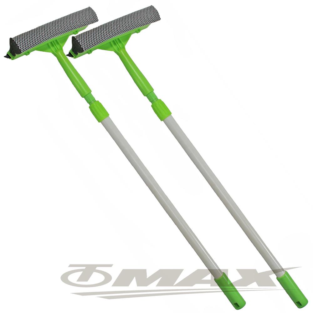 OMAX兩節兩面伸縮清潔刷-2入