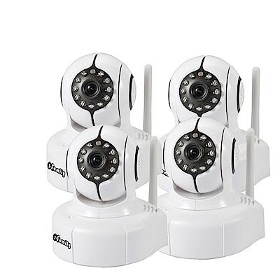 宇晨I-Family百萬畫素-H.264無線遠端遙控攝影機-四入