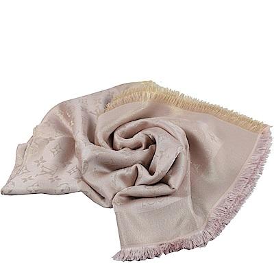 LV M70644 MONOGRAM花紋大方巾圍巾(粉色)
