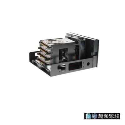 EVERCOOL勁冷超頻家族 鐵甲武士硬碟散熱器(黑色)HD-AR-R-BK