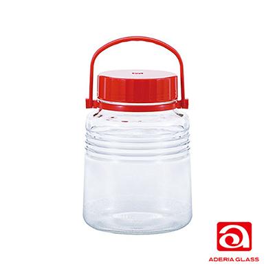 日本ADERIA 梅酒醃漬玻璃罐-3L