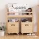 CiS自然行兒童家具 分類收納-展示架-移動式收納箱書架(扁柏自然色) product thumbnail 1