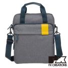 FX CREATIONS Lanford系列 手提側背包-灰 LZZ21453-21