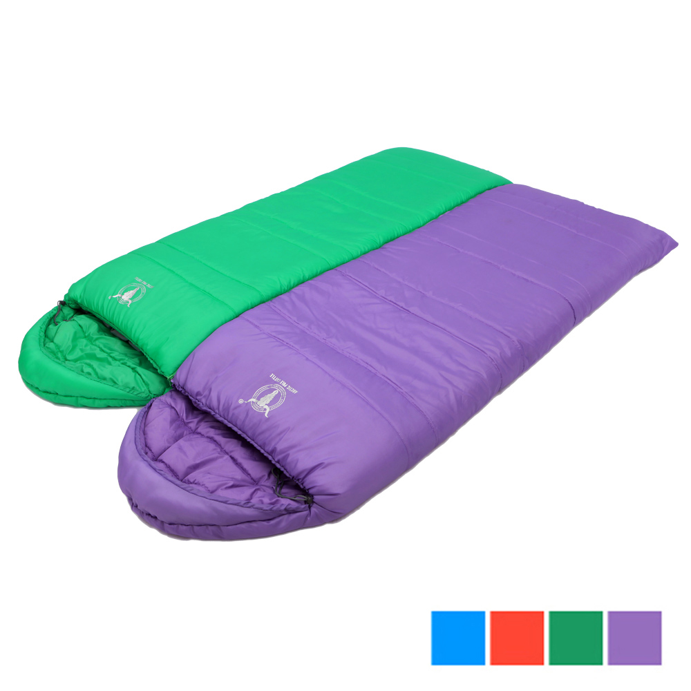 【APC】馬卡龍秋冬可拼接全開式睡袋 (2入組) 4色可選