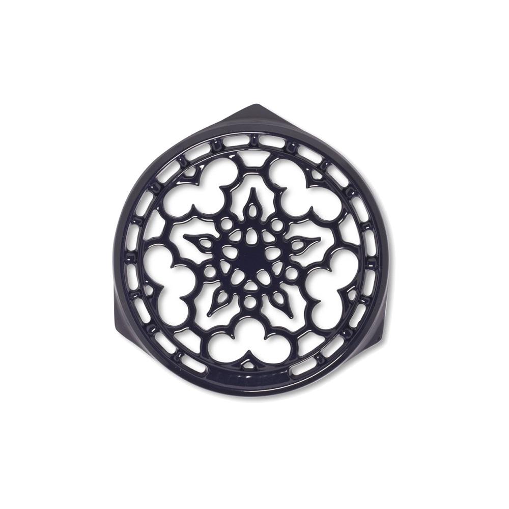 LE CREUSET 琺瑯鑄鐵鍋架 (葡萄紫)
