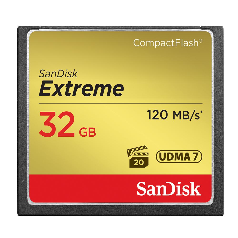 SanDisk Extreme CF 32GB 記憶卡 120MB 公司貨