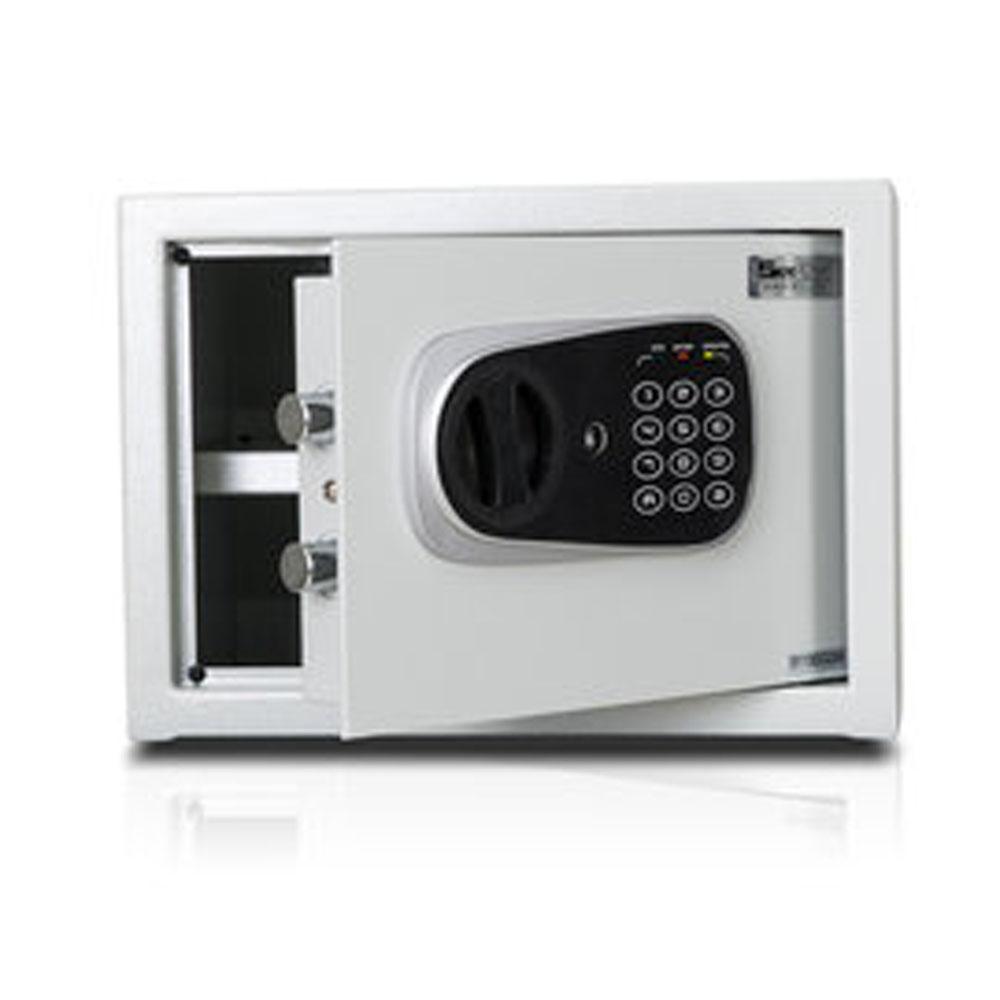聚富 小型簡美型保險箱金庫防盜電子式密碼鎖保險(25FD)
