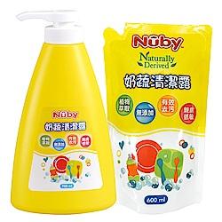 美國 Nuby 奶蔬清潔液組合包(1罐1包)